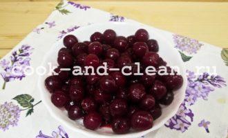 стерилизация вишни в собственном соку
