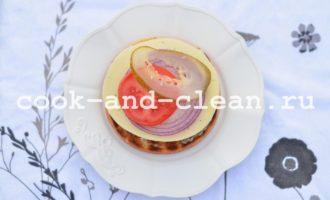 домашний бургер с котлетой пошаговый рецепт