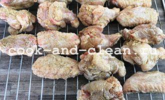 куриные крылышки в соусе рецепт