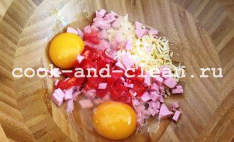 оладьи в стиле пицца рецепт с фото