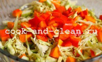 вермишель с овощами рецепт с фото
