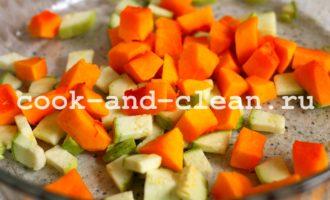 вермишель с овощами рецепт