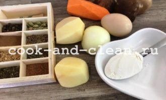 грибной суп с клецками рецепт