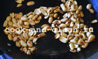 запеканка с орехами