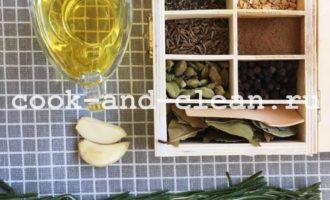 заправка для салата с оливковым маслом