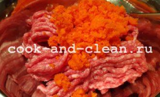 котлеты мясные с овощами рецепт