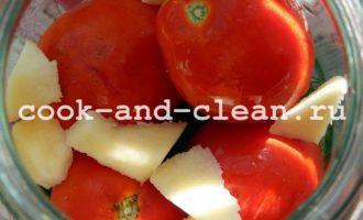 маринованные помидоры в банку на зиму
