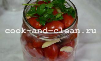 помидоры консервированные на зиму литровые банки