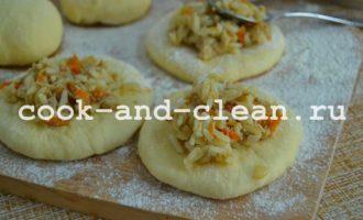 пошаговый рецепт пирожков