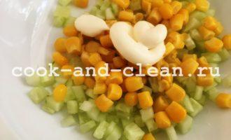 простой салат на новый год