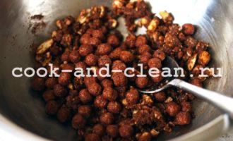 рецепт колбаски из печенья с какао