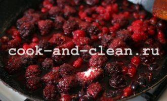 рецепт пирога с ягодами в духовке