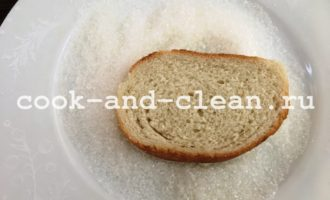 рецепт сладких гренок