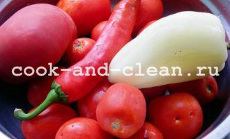 аджика сырая из помидор на зиму