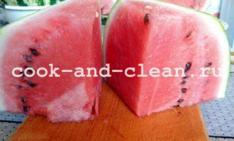арбузы на зиму простой рецепт