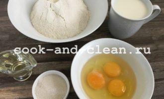блины на кипятке с молоком рецепт