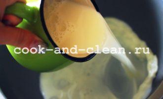 блины на молоке рецепт тонкие