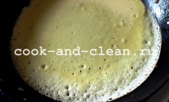 блины тонкие на молоке с дырочками пошаговый