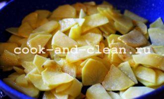 блюда из жареного картофеля