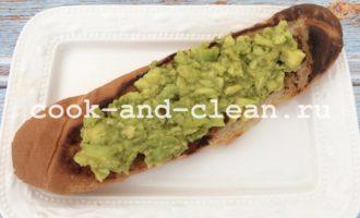 вкусные бутерброды с авокадо