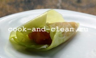 голубцы из свежей капусты пошаговый рецепт