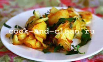 жареный картофель фото рецепт