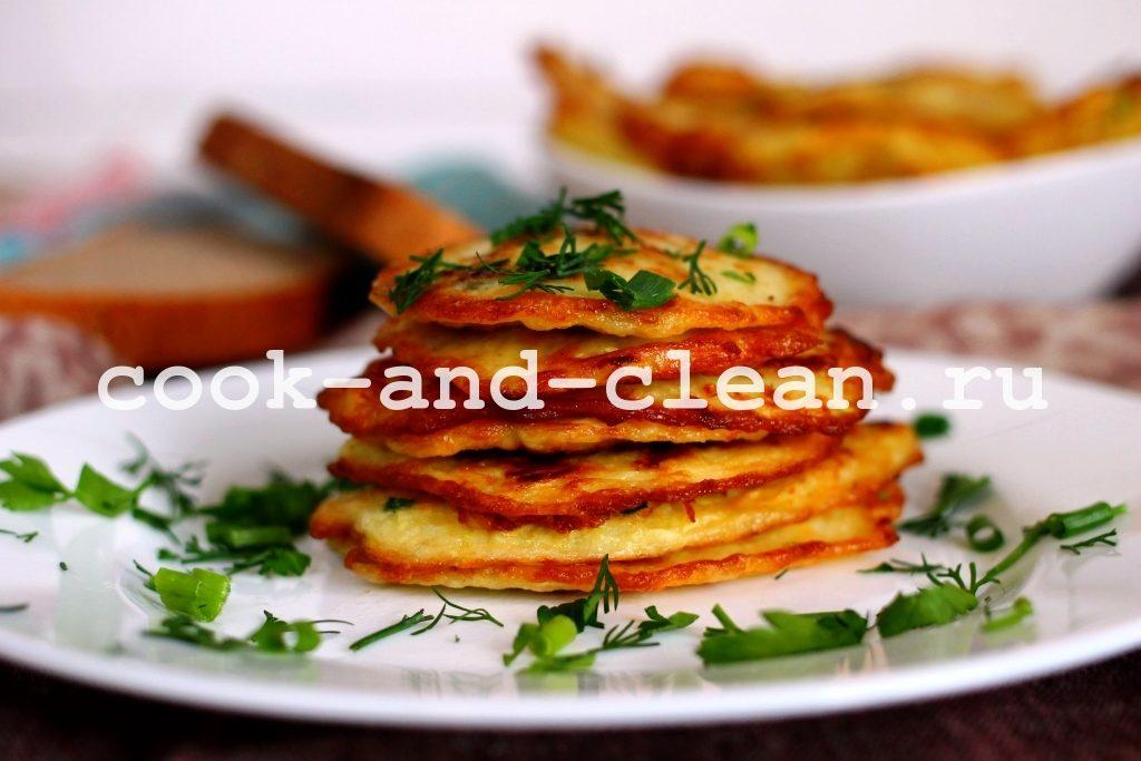 кабачковые оладьи рецепт на сковороде