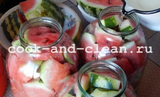 как закатать арбузы на зиму