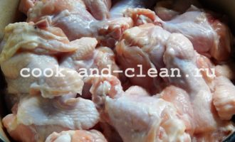 как приготовить куриные голени