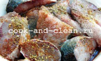 как приготовить рыбу на костре