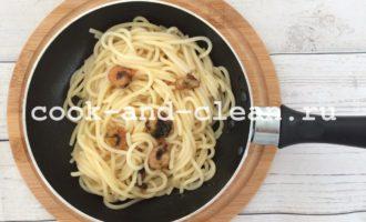 как приготовить спагетти с креветками