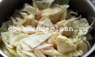 капуста маринованная кусочками со свеклой быстрого приготовления