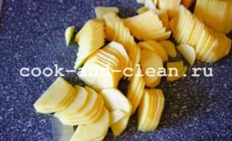 картофель жареный на сковороде
