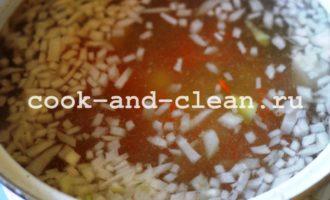 куриный суп с вермишелью пошаговый