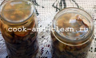 маринованные маслята на зиму простой рецепт