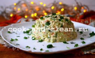 оливье с курицей рецепт с фото пошагово