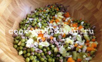 оливье с языком рецепт с фото