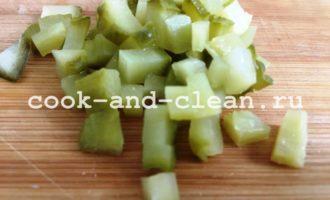 оливье с языком рецепт