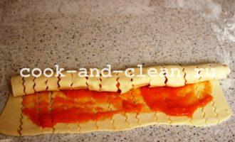 пирог из варенья айвы