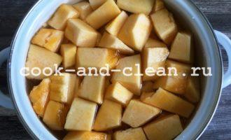 пирог с тыквой и яблоками в духовке