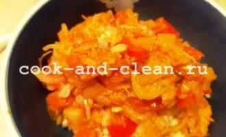 приготовление фаршированных овощей