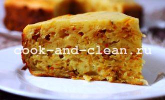 рецепт вкусного пирога с капустой на кефире
