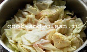 рецепт капуста со свеклой маринованная кусочками