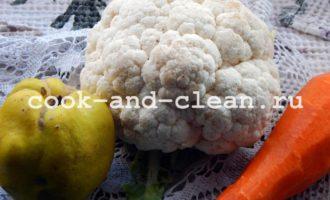 рецепт маринованной цветной капусты
