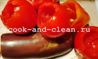 рецепт фаршированных овощей