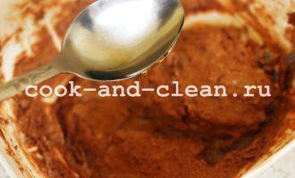 рецепт шоколадного манника в духовке