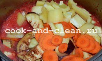 салат из баклажанов на зиму рецепты вкусные