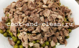 салат оливье с индейкой рецепт фото