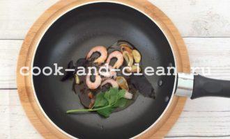 спагетти с креветками рецепт с фото пошагово