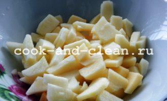 творожные булочки с яблоками рецепт